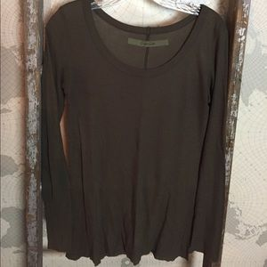 Enya Costa Ribbed Fitted Crew tee GUC M